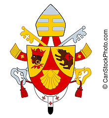 Coat of Arms of Benedict XVI - Pope Benedict XVI coat or...