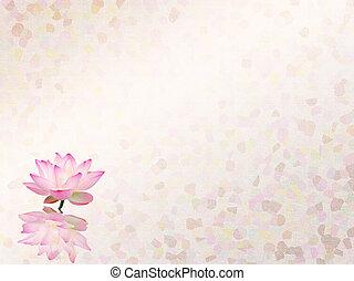 蓮花, 集合, 摘要, 繪, 背景