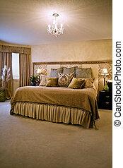 Bedroom - elegantly styled bedroom