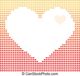 heart - Vector illustration of digital image of heart