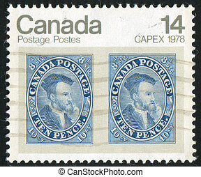 postage stamp - CANADA - CIRCA 1978: stamp printed by...