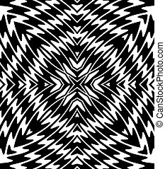 Black and White pattern - abstract black and white...
