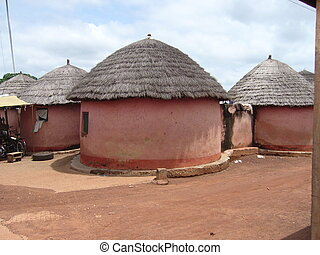 Compound in the area of Tamale