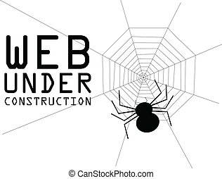 web under constuction
