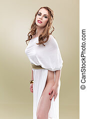 seductive greece woman tall - greece woman tall looking