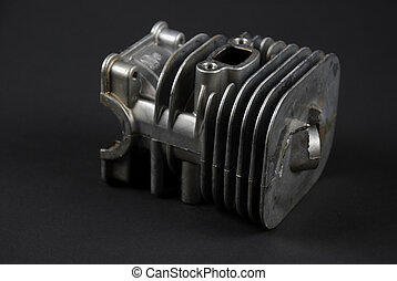 Engine and carburator - Stock pictures of a small gas engine...