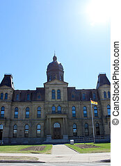 Legeslative Assembly Building in Fredericton NB