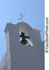 Ibiza 034 - Historic Curch in Santa Eularia SpainIbiza