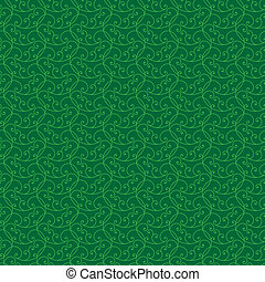seamless textured abstract background in shades of green -...
