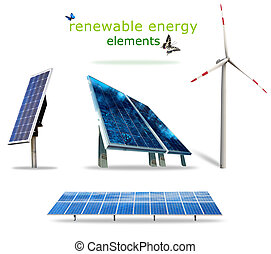 Renewable energy elements - Isolated renewable energy...