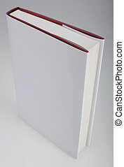 Plain white book