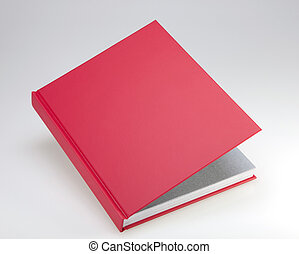 Red book with hard cover