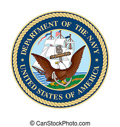 US Navy Seal - United States department of the Navy Seal;...
