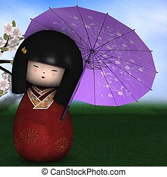 Japanese traditional doll
