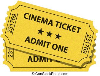 cine, boleto
