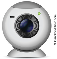 Web camera - Vector illustration of web camera