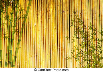 Light Golden bamboo Background great for any project frame...