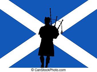 Gaitas, escocés