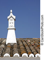 Old chimney - An old portuguese chimney detail