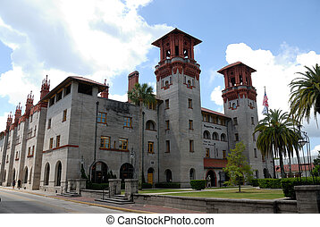 Lightner Museum - Once the Alcazar hotel built by Henry...