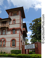 Flagler College - Formerly the Hotel Ponce de Leon built by...