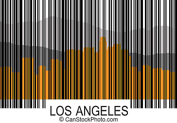 Los Angeles barcode a - Los Angeles barcode