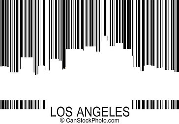 Los Angeles barcode b - Los Angeles barcode