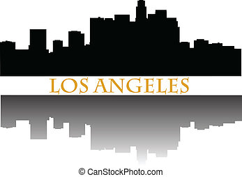 Los Angeles skyline a