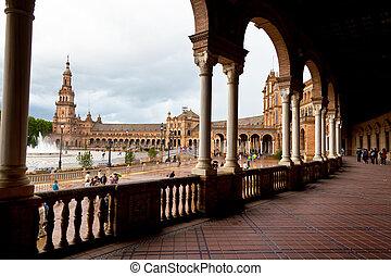 Espanha, Sevilha, Espanhol, Pavilhão