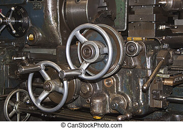 engineering machinery - old fashioned engineering machine