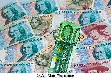 Swedish crowns - Swedish krona, the currency of Sweden...