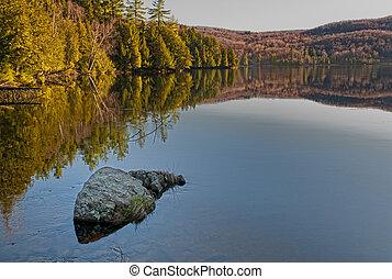 Meech Lake at Gatineau Park, Ontario, Canada