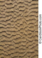 beach sand waves pattern texture brown wet color background