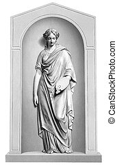 Muse of Painting - Muse of painting engraving from 1866....