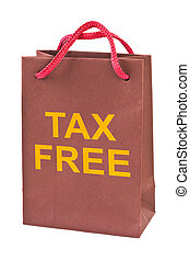 Shopping bag Tax Free