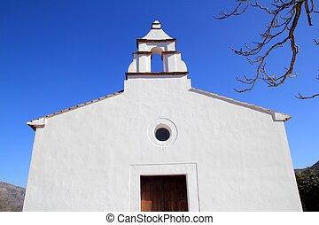 Ermita la Xara Simat de la Valldigna white church