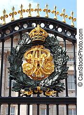 紋章, buckingham, 宮殿