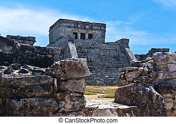 The Castle, El Castillo, Tulum)