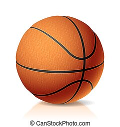 Basket ball - Vector illustration of a basket ball