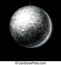 Disco ball - Vector illustration of a disco ball