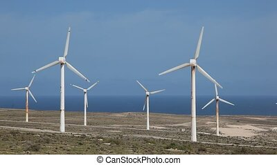 wind turbines for clean energy