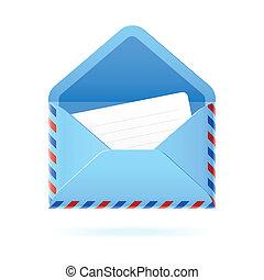 Envelope - Vector illustration of an envelope