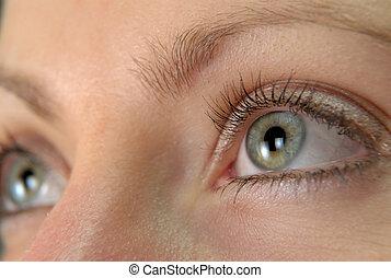 woman's' eye