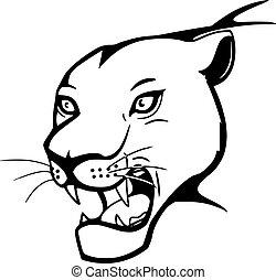 roaring big cat