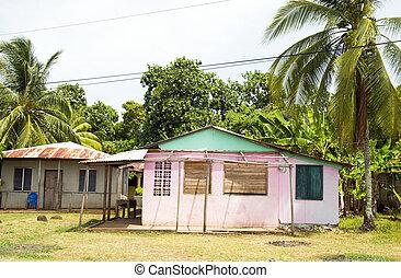 edificio,  mini, colorido, isla, maíz,  Nicaragua, Mercado