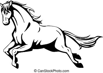 Mustang Stock Illustrations 4 015 Mustang Clip Art Images