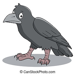 crow - cartoon-crow
