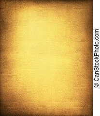 Golden Yellow Background - A vintage, textured golden yellow...