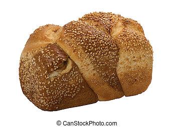 loaf of  fresh wheat  bread