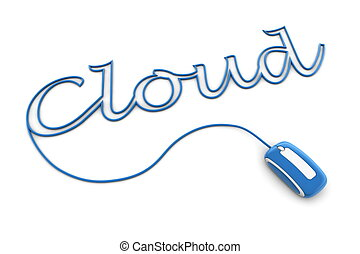 Browse the Glossy Blue Cloud Cable